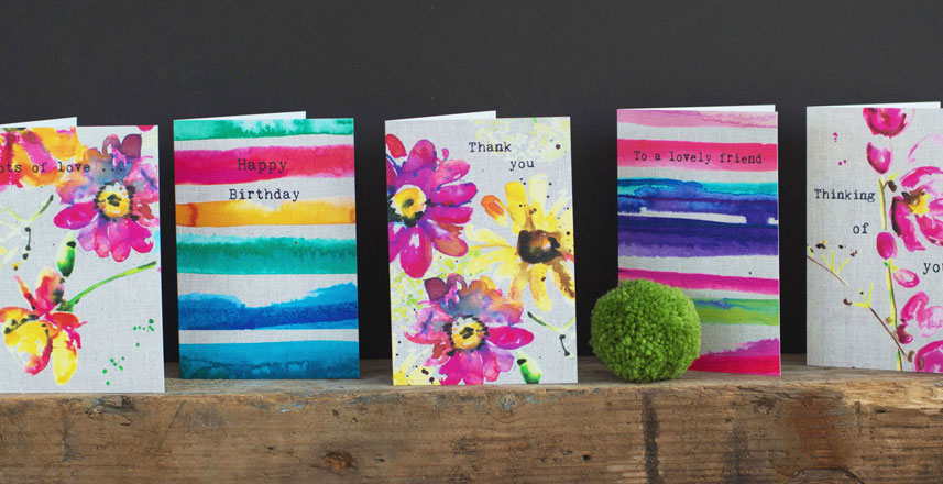 INKY FLORALS A huge range of gorgeous colourful ink...